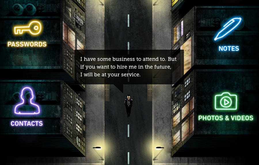 Ben The Bodyguard – promotes its features by storytelling