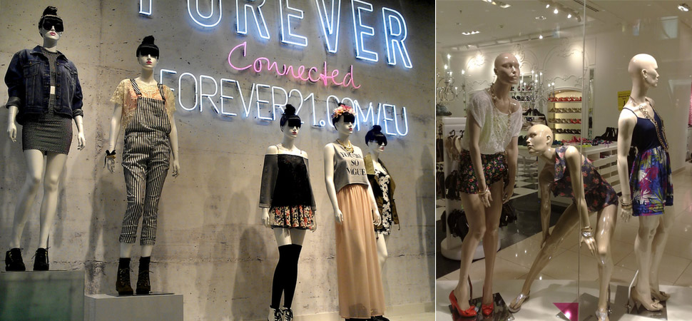 One can relate better with Forever New's human-like mannequins vs. plain old others
