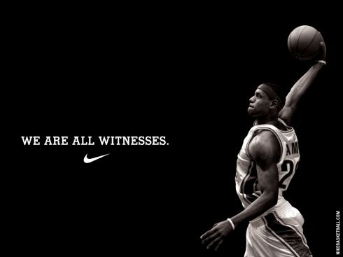 Nike is passionate about the true spirit of sportsmanship; and they show it in their ads instead of showing what technology they used in making their shoes