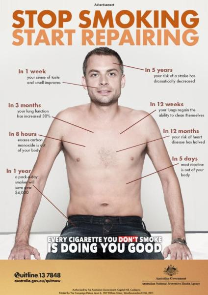 One of the best Quit Smoking ad I've seen which focuses only on the positive aspects of quitting instead of showing mouth ulcers and blocked lungs